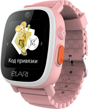 цена на Часы-телефон Elari Часы-телефон Fixitime 3 розовые ELFT3PNKRUS