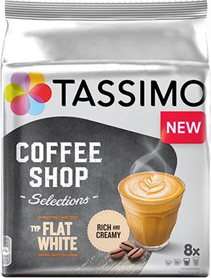 Кофе капсульный Tassimo FLAT WHITE