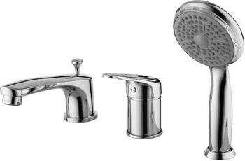 Смеситель для ванной комнаты Lemark Luna LM4145C смеситель для ванной комнаты lemark luna lm4114c для ванны