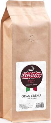 Кофе зерновой Carraro Gran Crema 1 кг кофе зерновой amado бразильский сантос 0 5 кг