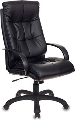 Фото - Кресло Бюрократ CH-824 черный искусственная кожа крестовина пластик кресло бюрократ ch 605 черное искусственная кожа крестовина металл