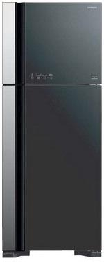 Двухкамерный холодильник Hitachi R-VG 542 PU3 GGR цена и фото