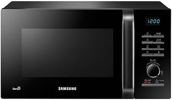 цена Микроволновая печь - СВЧ Samsung MG 23 H 3115 QK/BW онлайн в 2017 году