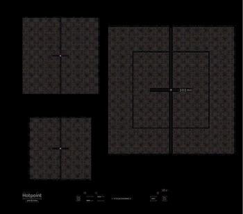 Встраиваемая электрическая варочная панель Hotpoint-Ariston KIS 630 XLD B варочная панель электрическая ariston kis 841 f b черный