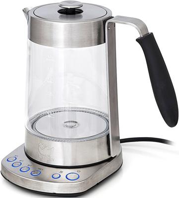 Чайник электрический Kitfort КТ-601 чайник электрический supra kes 1839w 2200 вт нержавеющая сталь 1 8 л нержавеющая сталь