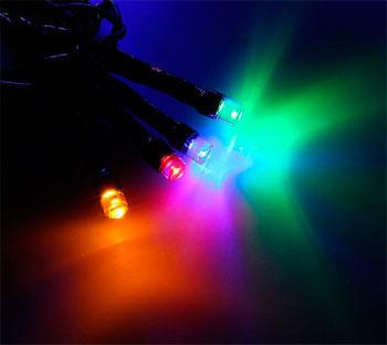 Гирлянда-нить Luazon Lighting ''Клип лайт (Спайдер)''3х20 м 24В мульти гирлянда электрическая luazon lighting нить шарики зеленые нить прозрачная цвет зеленый 30 led 220 v 8 режимов длина 5 м
