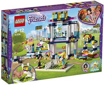 Конструктор Lego Спортивная арена для Стефани LEGO Friends 41338 конструктор lego футбольная тренировка стефани 119дет