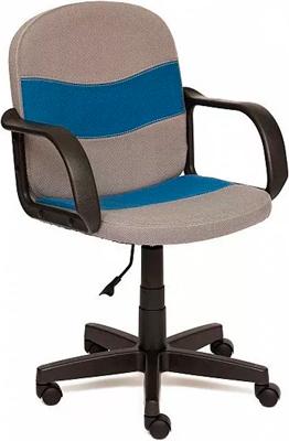 Офисное кресло Tetchair BAGGI (ткань серый/синий С27/С24) кресло tetchair baggi ткань серый синий с27 с24