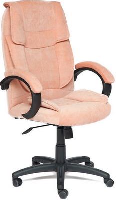 все цены на Кресло Tetchair OREON (флок ткань розовый Мисти роуз) онлайн