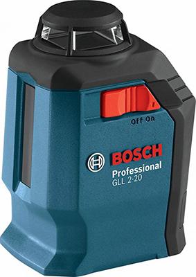купить Лазерный нивелир Bosch GLL 2-20 BM3 кейс 0601063 J 00 дешево