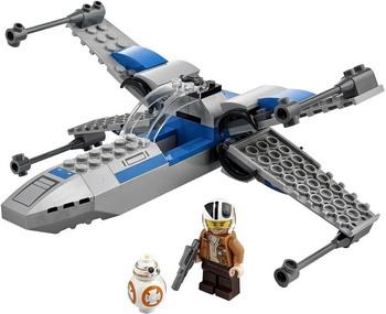 Конструктор Lego STAR WARS Истребитель Сопротивления типа X 75297