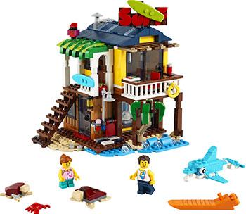 Фото - Конструктор Lego CREATOR ''Пляжный домик серферов'' 31118 lego creator городской магазин игрушек 31105