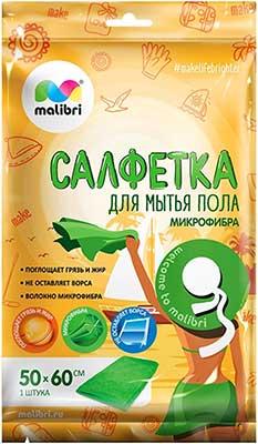 Салфетка из микрофибры Malibri для пола ''Универсальная''