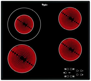 Встраиваемая электрическая варочная панель Whirlpool AKT 8130/BA электрическая варочная панель whirlpool akt 8130 ba черный