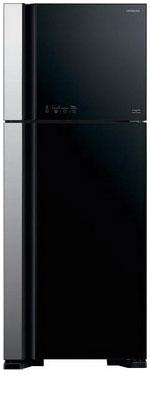 Двухкамерный холодильник Hitachi R-VG 542 PU3 GBK цена и фото