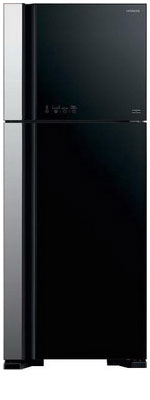Двухкамерный холодильник Hitachi R-VG 542 PU3 GBK цена