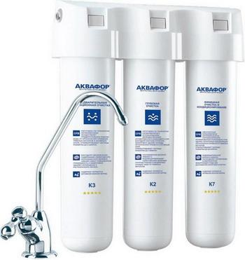 все цены на Стационарная система Аквафор Кристалл для мягкой воды онлайн
