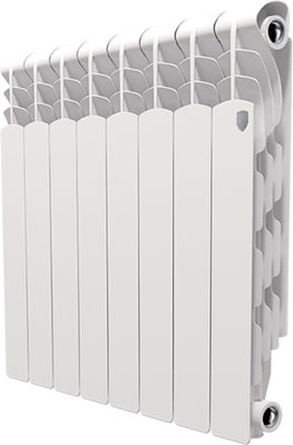 Водяной радиатор отопления Royal Thermo Revolution 500 - 8 секц. 500 5000 500