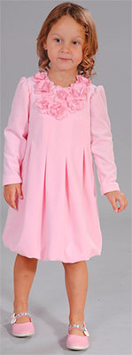 Платье Fleur de Vie 24-1440 рост 98 розовый платье для девочки batik цвет розовый ds0106 4 размер 98