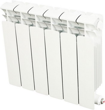 Водяной радиатор отопления RIFAR B 350 6 секц