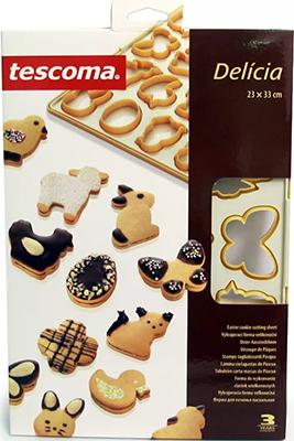 Форма для печенья пасхальная Tescoma DELICIA 630886