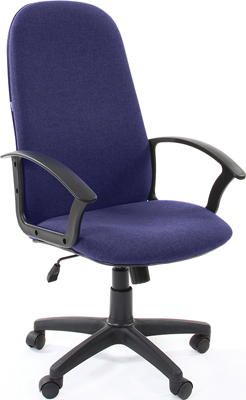 Кресло Chairman 289 синий цена и фото