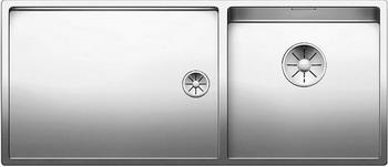 Кухонная мойка BLANCO CLARON 400/550-Т-U (чаша справа) нерж. сталь зеркальная полировка 521602 кухонная мойка blanco claron 4s if а чаша справа нерж сталь зеркальная полировка 521623