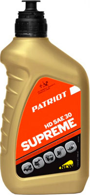Масло Patriot SUPREME HD SAE 30 4Т 0 946л 850030598 цена