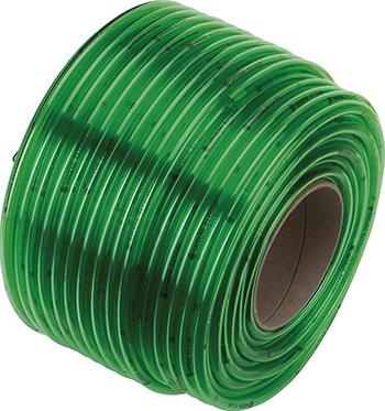 Шланг Gardena прозрачный зеленый 8х1 5 мм x 1 м (в бухте 80 м) 04986-20 цена и фото