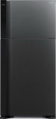 Двухкамерный холодильник Hitachi R-V 662 PU7 BBK чёрный бриллиант
