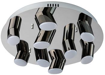 Люстра потолочная DeMarkt Фленсбург 609013809 180*0 2W LED 220 V люстра потолочная demarkt фленсбург 609013809 180 0 2w led 220 v