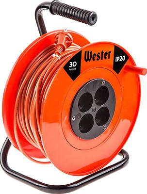 Удлинитель силовой на катушке WESTER K 10/30 трубка energoflex super protect k 18 4 11 308 м уп