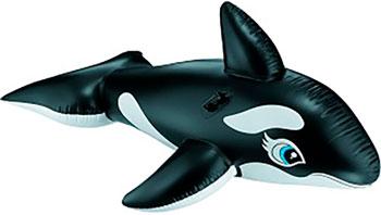 Надувная игрушка-наездник Intex 193х119см ''Касатка'' от 3 лет 58561 надувная игрушка наездник intex краб 213х137см 57528
