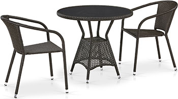 Фото - Комплект мебели Афина T 707 ANS/Y 137 C-W 53 2Pcs Brown 2pcs lot hi1016d qfp