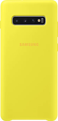 Чехол (клип-кейс) Samsung S 10+ (G 975) SiliconeCover yellow EF-PG 975 TYEGRU