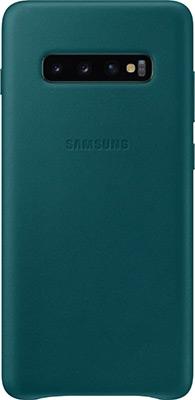 Чехол (клип-кейс) Samsung S 10+ (G 975) LeatherCover green EF-VG 975 LGEGRU
