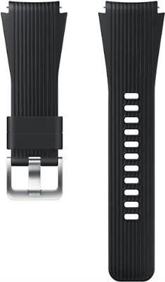 Ремешок Samsung Galaxy Watch силикон (46мм) black (M) ET-YSU 80 MBEGRU ремешок samsung для samsung galaxy watch 46мм samsung gear sport серый