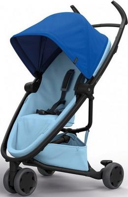 Коляска Quinny Zapp Flex blue on sky 1399997000 коляска прогулочная quinny yezz blue трек 76505130