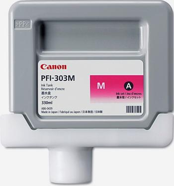 Фото - Картридж Canon PFI-303 M 2960 B 001 Пурпурный кеды мужские vans ua sk8 mid цвет белый va3wm3vp3 размер 9 5 43