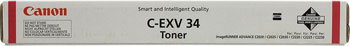 Тонер-картридж Canon C-EXV 34 M 3784 B 002 Пурпурный