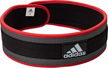 Пояс тяжелоатлетический Adidas L ADGB-12238 пуховик женский adidas w helionic ho j цвет голубой bq1929 размер l 48 50