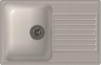 цена Кухонная мойка Lex Geneva 740 White онлайн в 2017 году