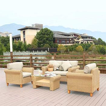 Комплект мебели с диваном Афина AFM-4018A