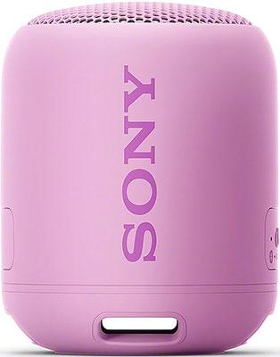 Портативная акустика Sony SRS-XB12V фиолетовый