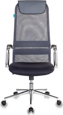 Кресло Бюрократ KB-9N/DG/TW-12 серый кресло компьютерное бюрократ kb 9 eco
