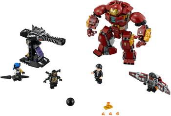 Конструктор Lego Super Heroes Бой Халкбастера 76104 lego super heroes 76104 бой халкбастера
