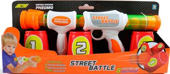 Фото - Игрушечное оружие 1 Toy Street Battle с мягкими шариками короб. Т13646 игрушечное оружие nerf rival бластер с шариками гелиос e3108121