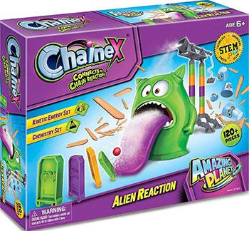 Набор научно-игровой Amazing Toys Chainex: Инопланетная реакция (31301) 1CSC20003906 набор amazing toys connex 32038 игрушка рисовальщик электронный конструктор 1csc 20003409