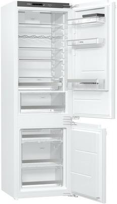 Встраиваемый двухкамерный холодильник Korting KSI 17887 CNFZ встраиваемый однокамерный холодильник korting ksi 8256