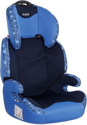 цена на Автокресло Siger ART Вега синяя мозайка 3-12 лет 15-36 кг группа 2/3 KRES2607